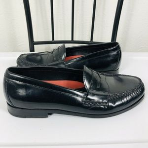 Cole Haan Size 12 Pinch Grand Penny Loafers Black